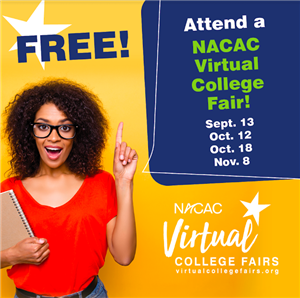 Virtual College Fair Flyer