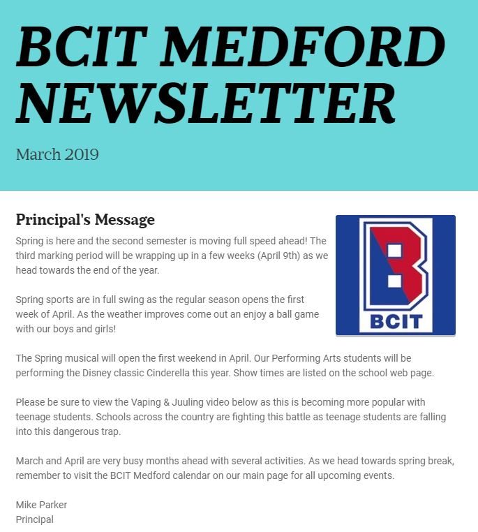 ~Click this box to read this month's Principal's Newsletter~