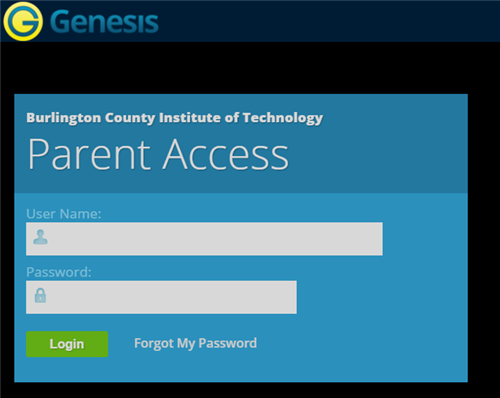 Welcome / Genesis Parent Portal
