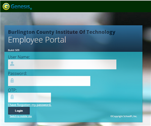 Employee Portal Website