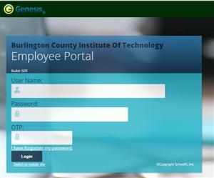 Employee Portal Website